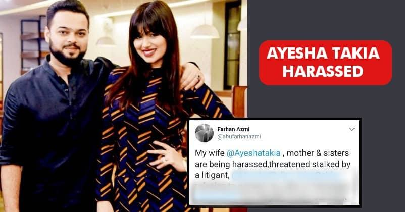 Bollywood Actress Ayesha Takia Harassed But Dcp Took No Action