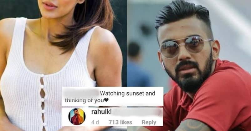 KL Rahul Flirts With A Beautiful Punjabi Actress On Insta