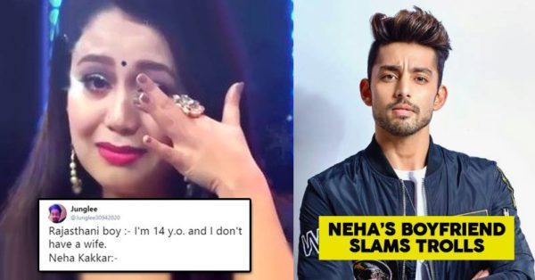 Twitter Trolled Neha Kakkar For Crying In Indian Idol Her Bf S Hard Hitting Reply Shut Haters Down Rvcj Media