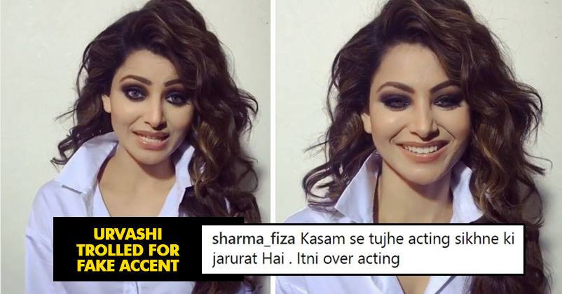 Urvashi Rautela Pronounced Her Surname In Video Netizens Trolled Her For Fake Accent Overacting Rvcj Media