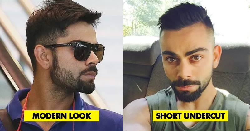 15 Hairstyles Of Virat Kohli Which Are Truly Amazing And Add X