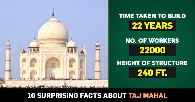 10 Surprising Facts About Taj Mahal Rvcj Media