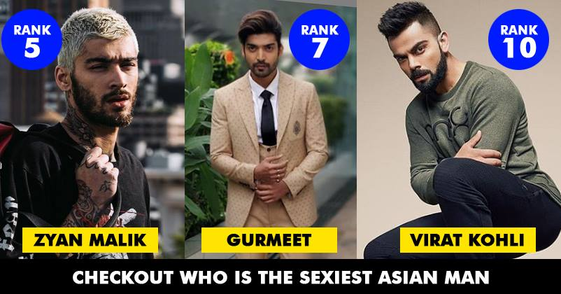 List Of Sexiest Asian Men Of 2018 Is Out. Check Out Who Topped It