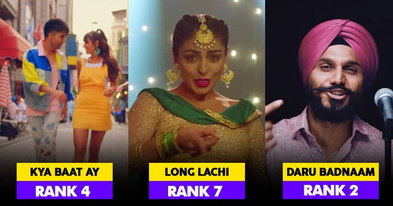 Google Reveals That These Were The Top 10 Trending Songs In India In 2018