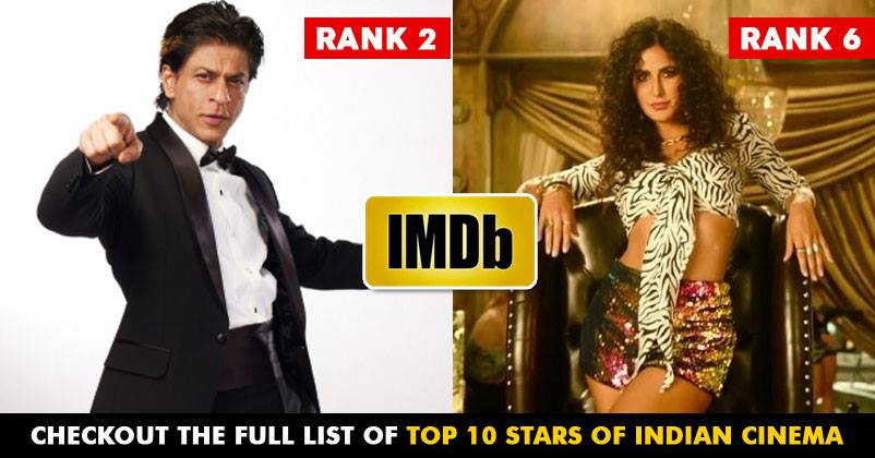 IMDB Releases List Of Top 10 Stars Of Indian Cinema, Guess