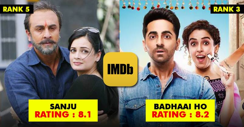 New Hindi Movei 2018 2019 Bolliwood: 10 Most Loved Bollywood Films Of 2018 According To IMDB