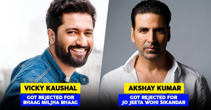 These Bollywood Actors Faced Rejection, We Bet You Didn't Know About Them.