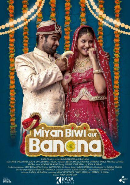 Poster Film Miyan Biwi Aur Banana
