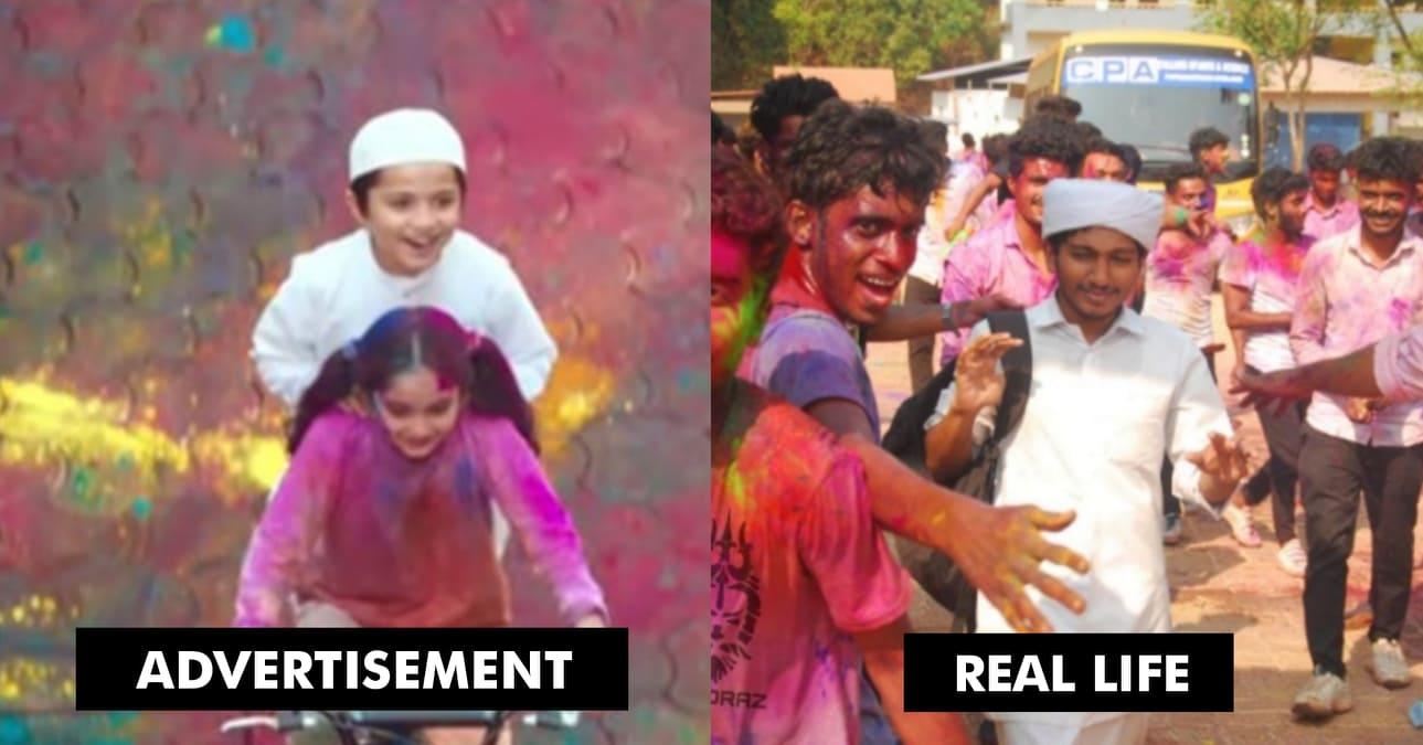 bc00fbdf2a031 Boys Protect Muslim Friend Wearing White Kurta From Holi Colours ...