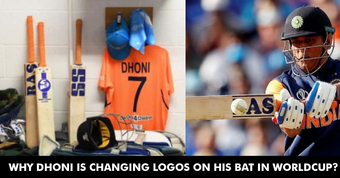 Image result for dhoni change of bats in world cup