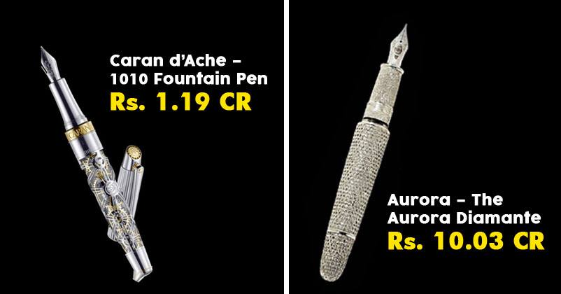 Top 10 Most Expensive Pen In The World Choose Your Pen
