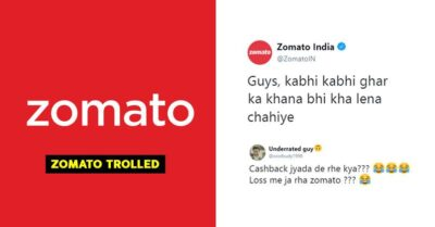Zomato Asks Customers To Eat Home Made Food Sometimes, Twitter Is Baffled