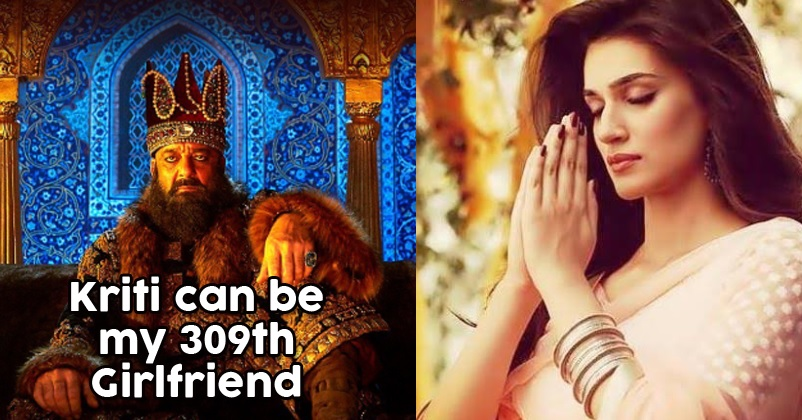 Sanjay Dutt Says Kriti Sanon Can Be His 309th Girlfriend ...