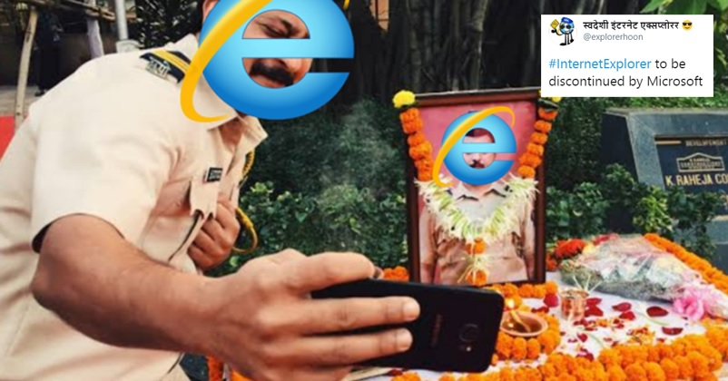 Microsoft To Finally Shut Down Internet Explorer Twitter Floods With Most Hilarious Memes Rvcj Media