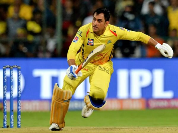 Dhoni Has An Adorable Reaction To The Fan Who Has Painted His Home In Colours Of CSK