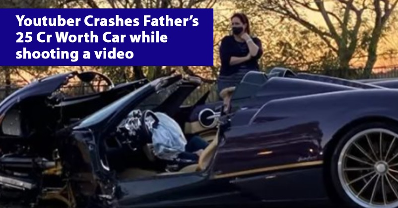 17-Yr YouTuber Crashes Father's Rs 25 Crore Supercar While Shooting A Video