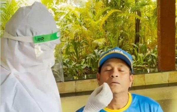 Sachin Tendulkar Frightens Medical Staff With A Hilarious Prank During COVID-19 Test