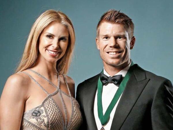 David Warner and Candice warner